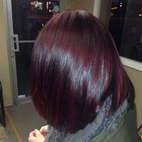50 belles id 233 es de couleur de cheveux prune soin couleur pour brune couleur bordeau cheveux