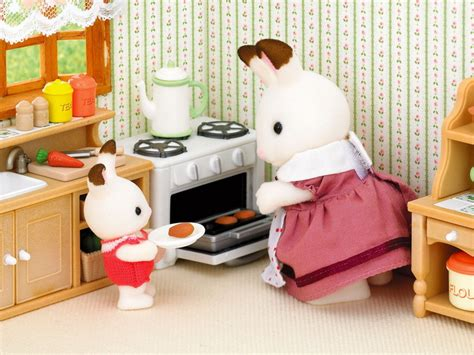 sylvanian families country kitchen country kitchen set sylvanian families 5965