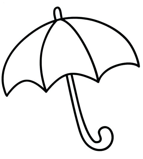 umbrella coloring pages nature coloring pages umbrella