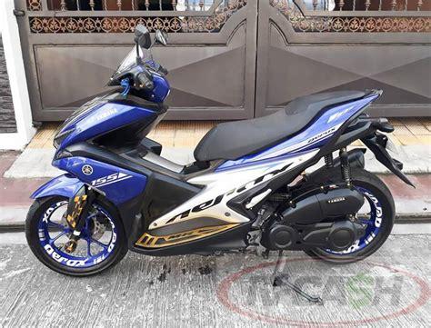 2017 Yamaha Mio Aerox 155