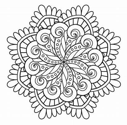 Mandala Coloring Immortality Mandalas Creation Pages Adult