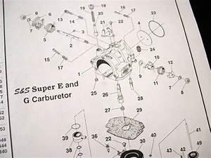 S S Carburetor Adjustment For A 388