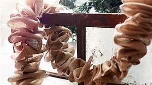 Guirlande De Photo : guirlande de no l rustique bricolage de no l facile faire ~ Nature-et-papiers.com Idées de Décoration