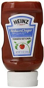 Heinz Reduced Sugar Tomato Ketchup 368 ml, Low Carb, Low ...