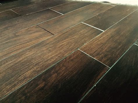 hardwood floors uneven uneven wood look tile yelp