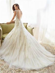fascinating wedding gowns by sophia tolli39s spring 2015 With designer wedding dresses