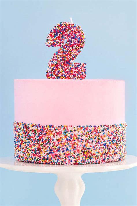 ultimate diy sprinkle cake sprinkles  breakfast