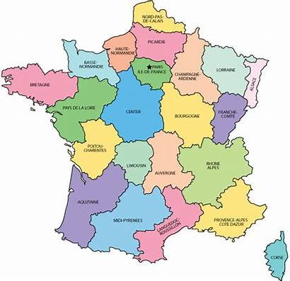France French Regions Departement Departements Carte Geography