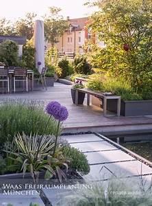 Gestaltungstipps Moderner Garten : moderner garten moderne bepflanzung und wasserbecken ~ Whattoseeinmadrid.com Haus und Dekorationen