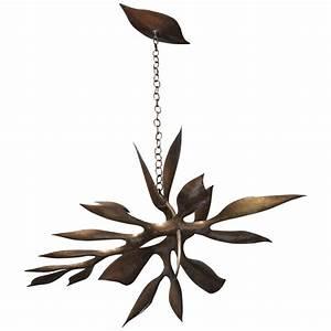Hervé Van Der Straeten : unique bronze chandelier by herv van der straeten at 1stdibs ~ Melissatoandfro.com Idées de Décoration
