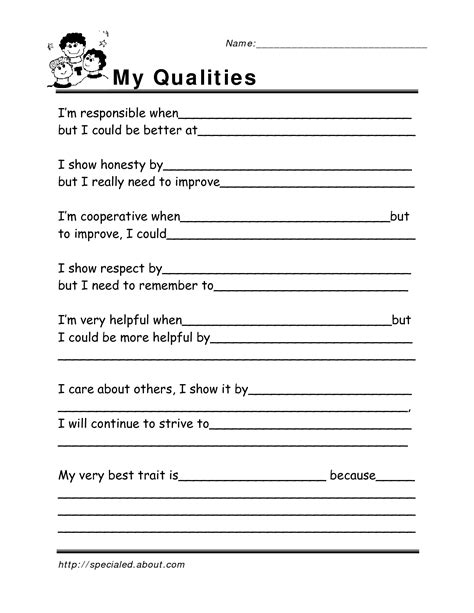 free social skills worksheets go search for