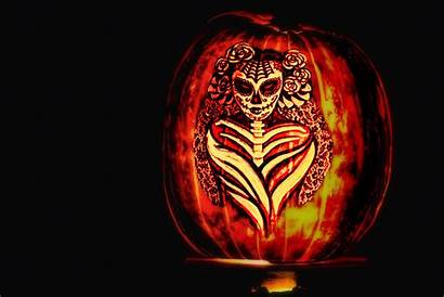 Scary Pumpkin Carving Halloween Backgrounds Wallpapers Stencils