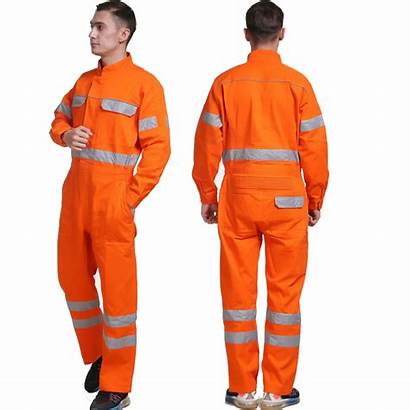 Safety Overalls Coveralls Reflective Working Wear Factory