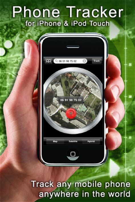 track a iphone phone tracker iphone application