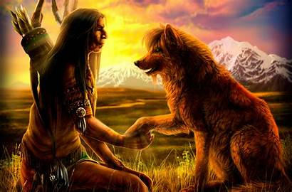 Native American Fantasy Artistic