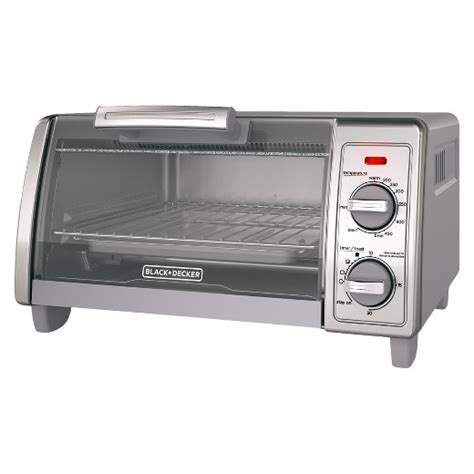 Black Decker Toaster Oven by Black Decker 2 Knob Toaster Oven Gray Target
