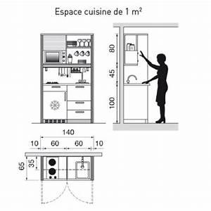 amenagement salon cuisine 30m2 13 plan cuisine With plan petite cuisine ouverte