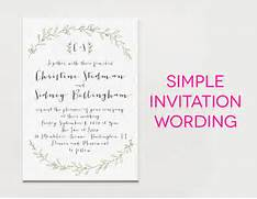 White Wedding Invitation With Black Wording And Green Leaf Borders Wedding Photos Pictures Of Wedding Invitation Wording Suggestions You Can Download Funny Wedding Invitation Wording Ideas In Your Funny Wedding Invitations Love Story Infographic 1