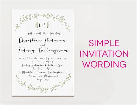 wedding invitation wording samples  traditional  fun