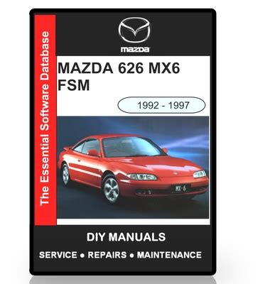service manuals schematics 1992 mazda 626 navigation system mazda 626 mx6 workshop manual 1992 1997 download manuals