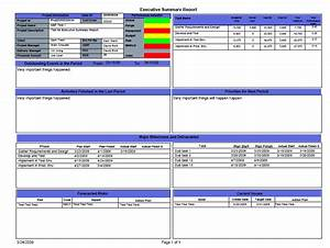 Best photos of executive summary project status for Project status executive summary template
