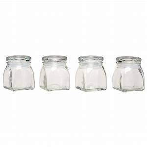 Bocal A Epice : lot de 4 bocaux pices en verre les accessoires pour ~ Teatrodelosmanantiales.com Idées de Décoration