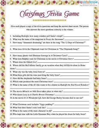 Christmas Trivia, Trivia And Christmas Trivia Games On Pinterest