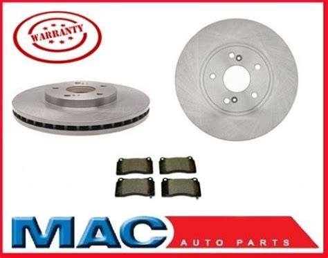 04-08 Acura Tl & Tl Type S (2) 310mm Front Brake Rotors