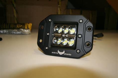 Wiring Harnes Andrew Amanda by 2x18w Led Work Driving Light 8 Deg Spot Flush Mount