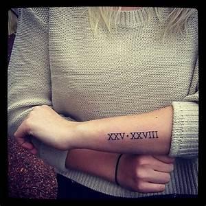 Tatuajes de números romanos: origen, ideas y significado Belagoria la web de los tatuajes