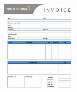 Microsoft invoice template 54 free word excel pdf for Auto service invoice template free download