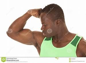 Strong man flex arm close stock photo. Image of health ...