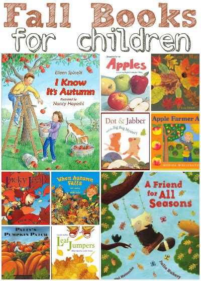 fall craft ideas for preschool activities amp book lists 391 | 15 Fall Books For Children1