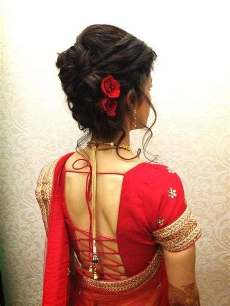 indian bridal hairstyles  short hair hairstyles