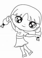 Coloring Smiling Pagina Coloration Fille Kleurende Colouring Coloritura Sorridente Ragazza Della Meisje Sourire Child Pretty Basket Ball Maan Illustratie Drawing sketch template