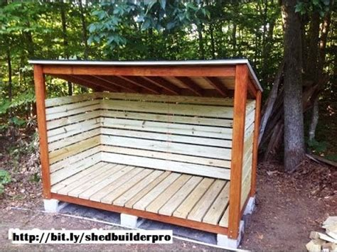 firewood storage shed plans how to build a wood shed solid plans inside plus bonus