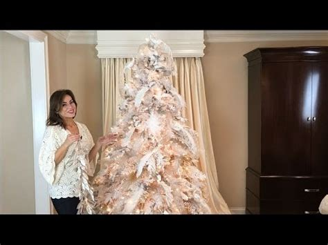 the inn at christmas place garland length how to decorate a white flocked tree