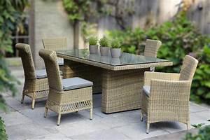 Table De Jardin Tressé : ensemble repas rsine tresse ronde eulalie collection ~ Nature-et-papiers.com Idées de Décoration