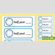 * New * Half Past Own Times Cards
