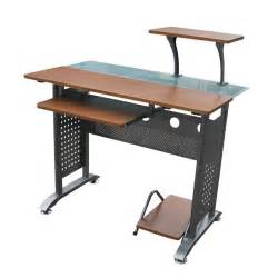 Chair Mounted Keyboard Tray by Furniture The Best Choices Of Cool Computer Desks Maleeq