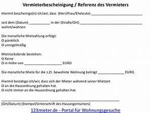 Vermieterbescheinigung Für Neuen Vermieter : vermieterreferenz f r 123 portal f r wohnungsgesuche ~ Lizthompson.info Haus und Dekorationen