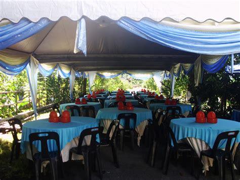warisan sejati katering kulim padang serai tema biru
