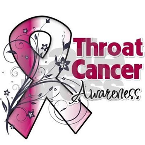 throat cancer ribbon color throat cancer color the burgundy and ivory ribbon by ryu