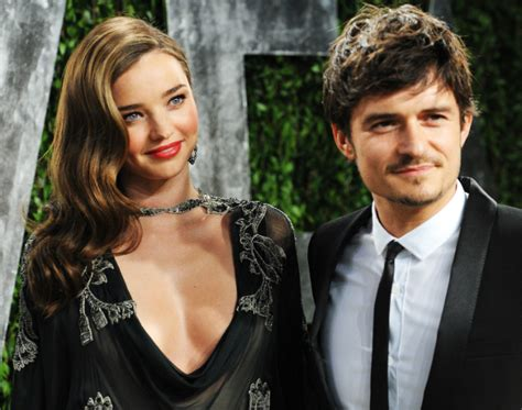 British Vanity Fair by Orlando Bloom Amp Miranda Kerr Confirm The End Of Their