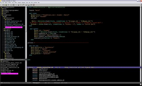 ruby ide emacs editors developers mode productivity boosting features