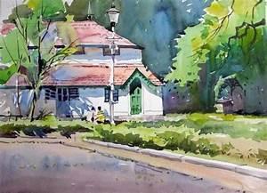Milind Mulick Watercolor Paintings - Fine Art Blogger