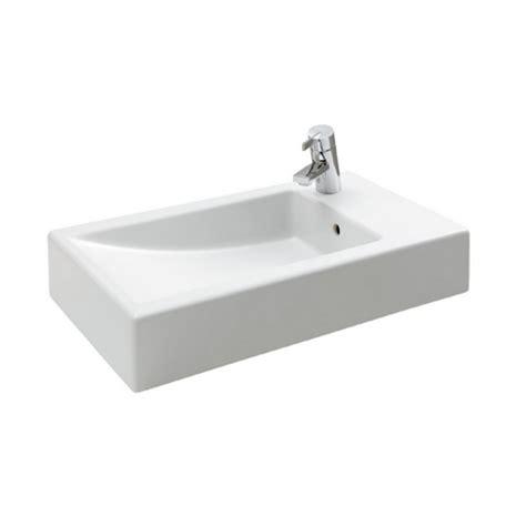 vasque 192 poser c 201 ramique blanc 60x35cm cubic comparer les prix de vasque 192 poser c 201 ramique