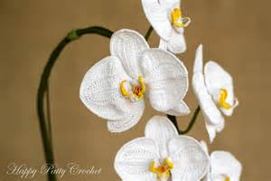 moth orchid crochet orchid pattern by happy patty crochet