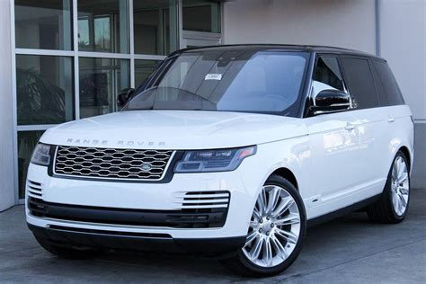 2018 Land Rover Range Rover by New 2018 Land Rover Range Rover Supercharged Lwb Sport