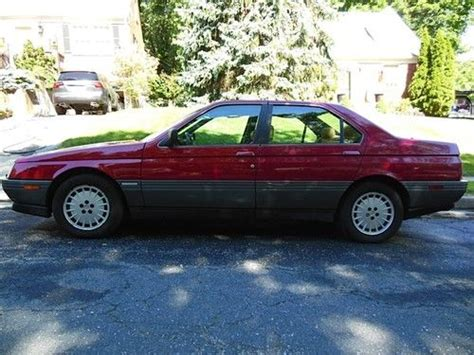 car manuals free online 1992 alfa romeo 164 parking system sell used 1992 alfa romeo 164 l sedan 4 door 3 0l in crownsville maryland united states